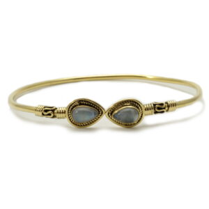 Bracelet-pierre de lune