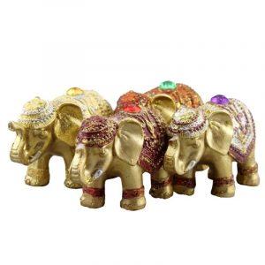 porte encens éléphant
