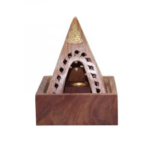 pyramide porte encens