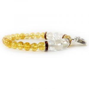 Bracelet indien en citrine