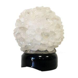 Lampe de cristal de roche