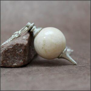 Pendule séphoroton pierre de lune