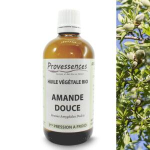 huile végétale d'amandouce douce bio
