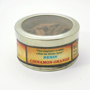 Encens résine cannelle orange