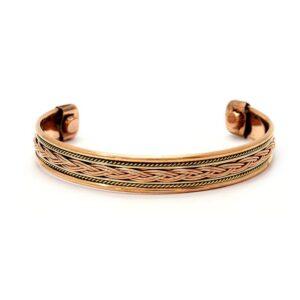 Bracelet cuivre tressé
